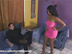 BDSM, Mature, Face Sitting, Femdom, Interracial