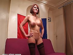 Amateur, Casting, Mature, French