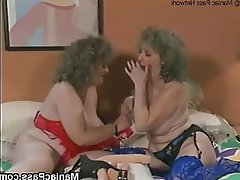 Brunette, Granny, Lesbian, Mature