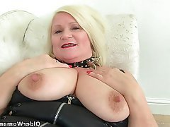 British, Granny, Mature, MILF, Stockings