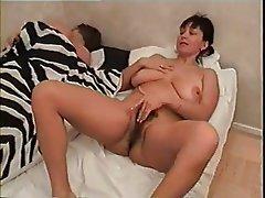 Big Boobs, Group Sex, Russian