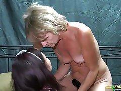Lesbian, Masturbation, Mature, Old and Young