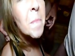 Amateur, Cuckold, Cum in mouth