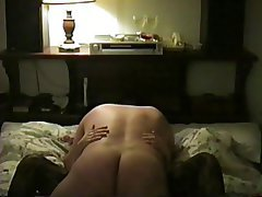 Amateur, Brunette, Hairy, Stockings, Wife