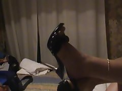 Italian, Amateur, Foot Fetish, High Heels, Footjob