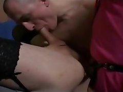 Amateur, Bisexual, Cum in mouth, Lingerie, Threesome