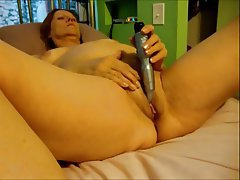 Mature, Masturbation, Granny