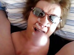 Amateur, Facial, Mature, MILF, POV