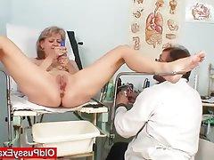 Blonde, Masturbation, Mature, Medical, MILF
