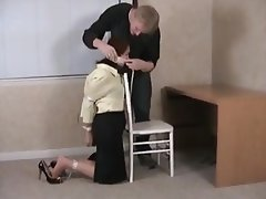 Bondage, MILF, Mature, Office