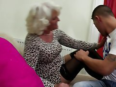Granny, Mature, MILF, Old and Young, Stockings