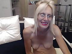 Amateur, Granny, Masturbation, Saggy Tits, Webcam
