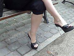 Brazil, Amateur, Foot Fetish, High Heels, Wife