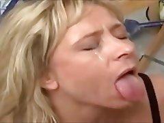 Blonde, Cumshot, Mature, Facial