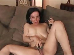 Granny, Hairy, Masturbation