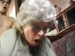 Blowjob, Granny, Handjob, Masturbation, Mature