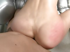 Mature, Facial, Old and Young, Stockings