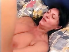 Blowjob, Cumshot, German, Granny, Hairy