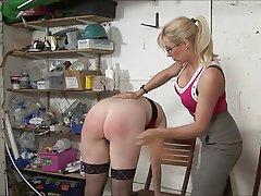 BDSM, Femdom, MILF, Spanking