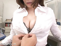 Asian, Blowjob, Creampie, Mature, Secretary