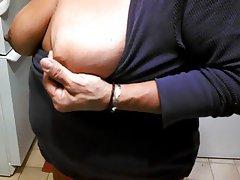 BBW, Big Boobs, Mature, Nipples