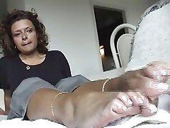 Amateur, Foot Fetish, Masturbation, POV, Softcore