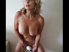 Big Boobs, Granny, Masturbation, Mature
