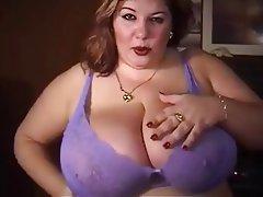 BBW, Big Boobs, Masturbation, Mature, POV