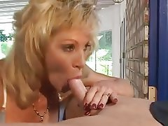 Blonde, Blowjob, Facial, Mature, MILF