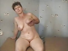 Masturbation, Mature, MILF, Russian