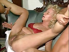 Granny, Group Sex, Hairy, Mature