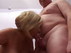 Big Boobs, Blowjob, British, Cumshot