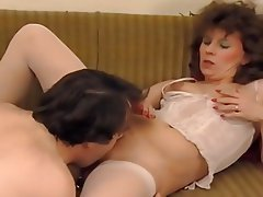 Cunnilingus, German, Lingerie, Mature
