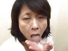 Asian, Cumshot, Granny, Hairy, Mature