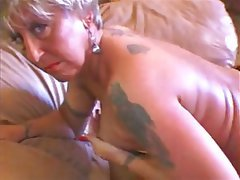 Granny, MILF, Mature, Tattoo